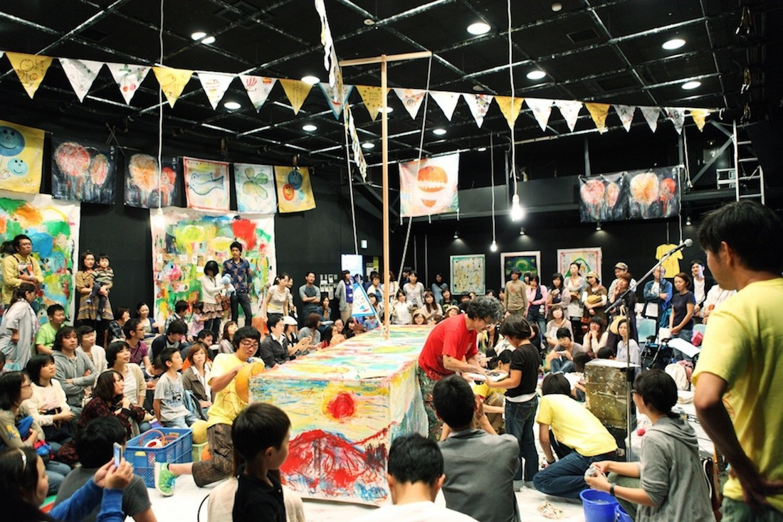 芸術祭をサポート